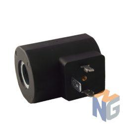 Mágnestekercs 12V NG06 (23.5-24) Deutsch csatlakozó