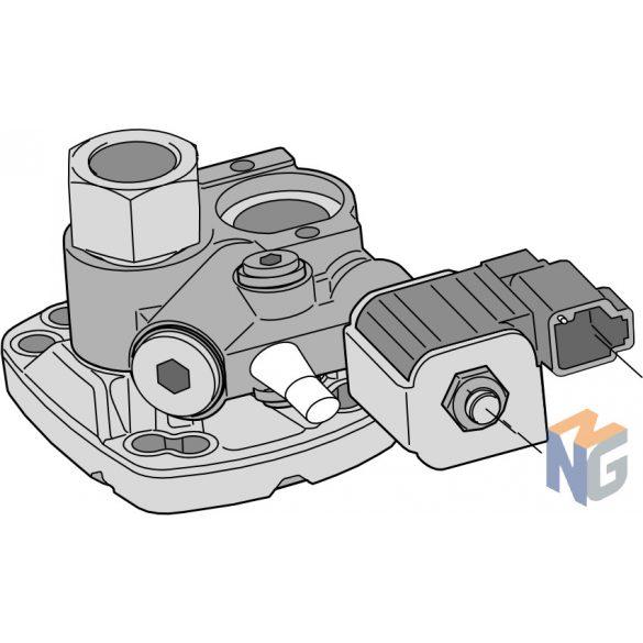BPV-F1, BPV-T1 (manuális felülírás nélkül) (12VDC) (kompatibilitás F1-25,-41,-51,-61 és T1-81)