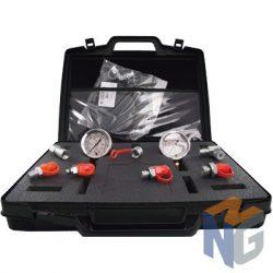 Nyomásmérő készlet Analóg órával 0-160; 0-315