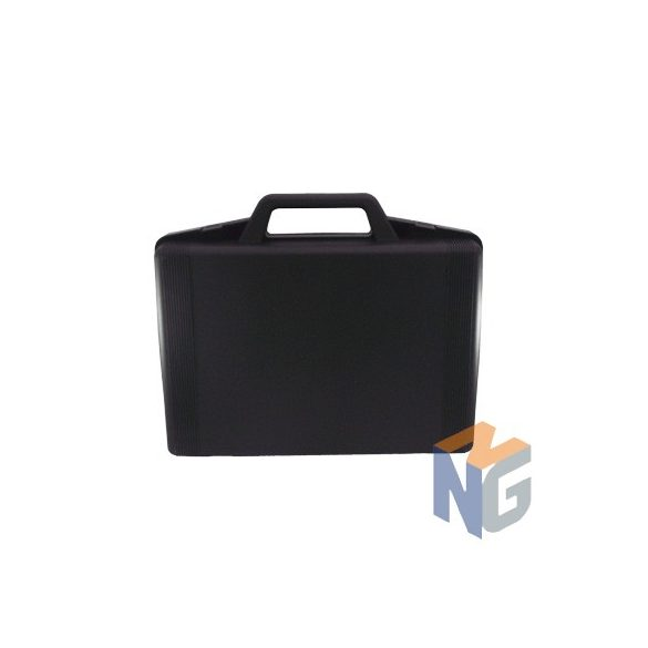Check case with analog clock 0-160; 0-315