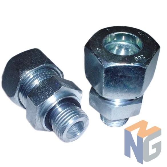 Közcsavar BSP1/2 (lapon tömítő) - Ø10 cső L kivitel