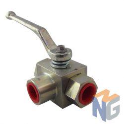 Parker 3 ways type L ball valve 1˝